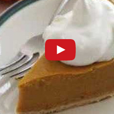 How To Cook Pumpkin Pie